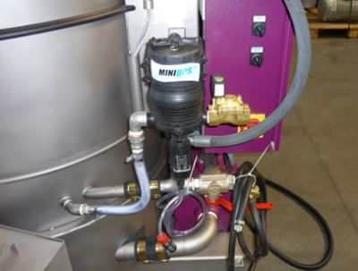 (Option) Dosing pump cleaner
