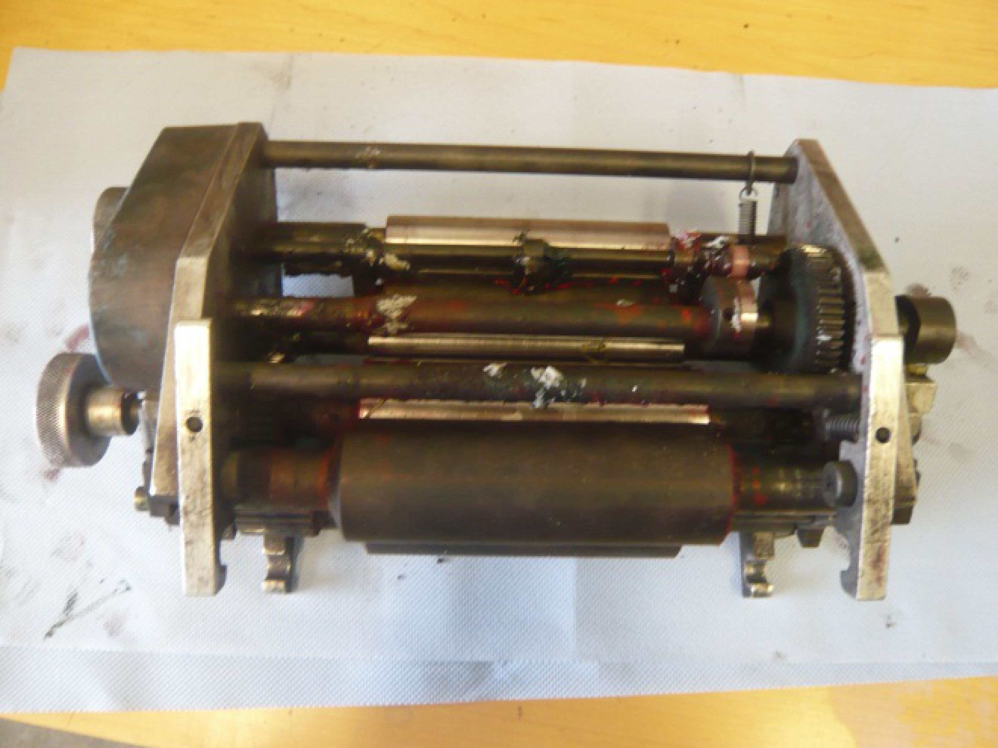 Print roller before